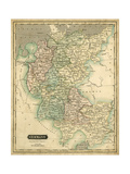Thomson's Map of Germany