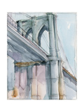 Watercolor Bridge Study II