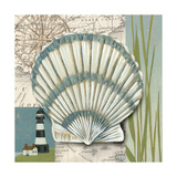 Seaside Shell II Reproduction d'art par Chariklia Zarris