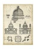 Vintage Architect's Plan II