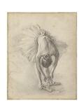 Antique Ballerina Study I Reproduction d'art par Ethan Harper