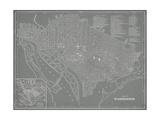 City Map of Washington  DC