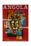 Alluring Angola Welcomes You  Tourism Office Travel Poster