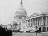 Horse-Drawn Carriages at U S Capitol