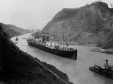 The SS Kronland in Panama