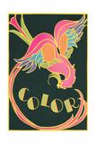 Color  Fantastic Bird