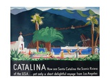 Catalina Island Travel Poster Giclée