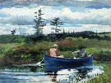 Le bateau bleu Giclée par Winslow Homer