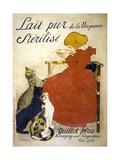 Lait Pur Sterilise Poster Giclée par Théophile Alexandre Steinlen
