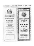 Advertisement for Lunar Real Estate