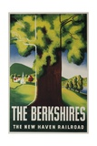 The New Haven Railroad Advertising Travel Poster  the Berkshires
