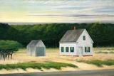October on Cape Cod Giclée par Edward Hopper