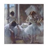 The Ballet Class Giclée par Edgar Degas