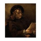 Titus Van Rijn  the Artist's Son  Reading
