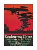 Early German Air Show Poster