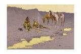 A New Year on the Cimarron Giclée par Frederic Sackrider Remington