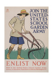 World War I Poster for Gardening