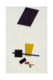 Painterly Realism of a Football Player  Color Masses in the 4th Dimension Giclée par Kasimir Malevich