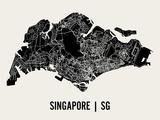 Singapour Reproduction d'art par Mr City Printing