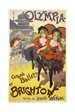 "Olympia - Grand Ballet: ""Brighton"" Poster Advertisement"