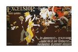Excelsior Poster Giclée par Jules-Alexandre Grün