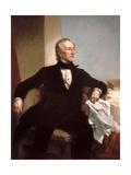 Official White House Portrait of President John Tyler