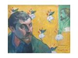 Self-Portrait with Portrait of Bernard (Les Miserables)