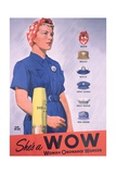 She's a Wow Poster