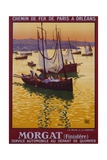 Morgat (Finistere) Travel Poster