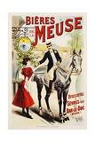 Bieres De La Meuse Poster Giclée