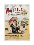 Wimereux Travel Poster