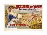 Brasserie Des Vosges Poster Giclée par A. Quendray