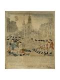The Boston Massacre Engraving