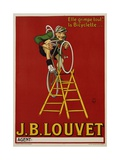 JB Louvet Bicycles Poster