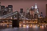 Brooklyn Bridge and Manhattan Skyline  New York City