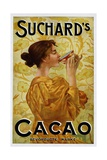 Circa 1905 Belgian Poster for Suchard's Cacao Giclée