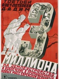 Soviet Poster Championing Land Use and Industry