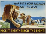Pack it Right to Reach the Fight! Poster