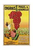 Affiche Engrais Paul et Gounelle Giclée par Viano