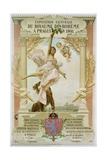Exposition Generale Du Royaume Di Boheme a Prague En 1891 Poster