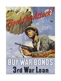 Back the Attack! War Bonds Poster