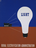 Light: Rural Electrification Administration Poster