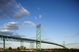 Ambassador Bridge  Detroit  Michigan