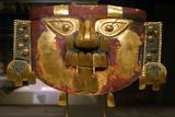 Lambayeque Gold Funerary Mask
