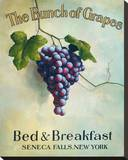 The Bunch of Grapes Tableau sur toile par Isiah And Benjamin Lane