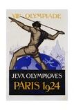 Jeux Olympiques  Paris 1924 Poster