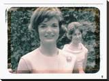 Jackie Kennedy I Tableau sur toile par British Pathe