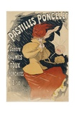 Pastilles Poncelet Poster Giclée par Jules Chéret