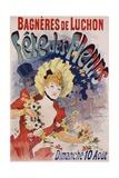 Bagneres De Luchon Fete Des Fleurs Poster Giclée par Jules Chéret