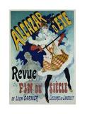 Alcazar D'Ete - Revue Fin De Siecle Cabaret Poster Giclée par Jules Chéret